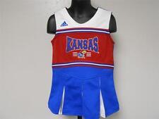 NEW-MENDED Kansas KU Jayhawks Adidas 2-PC Cheerleader Outfit TODDLER Size 3T