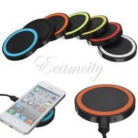 Qi Wireless Charger Pad Kabellose Battery Ladegerät Für iPhone 6 5 4 Für Samsung