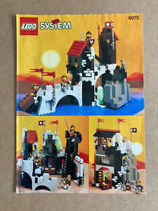 6075 LEGO Instructions Wolfpack Tower