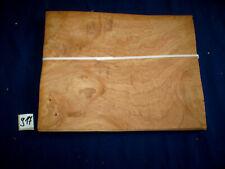 Kastanie Maser Furnier 1 Paket   290 x 230 mm   20 Blatt    Nr. 917