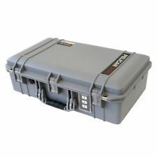 Silver Pelican 1555 Air case Empty - No Foam.