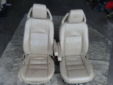 Land Rover discovery 3 2.7 HSE 2004-2009 front electric Cream interior seats