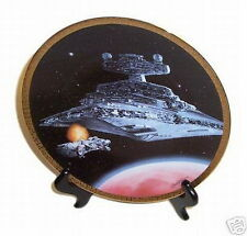 Star Wars Plate Star Destroyer Space Ship Hamilton Co