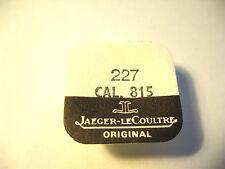 JAEGER LE COULTRE  815 SWEEP SECONDS WHEEL PART 227