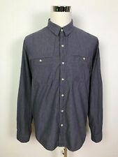 Rusty Mens Casual Long Sleeve Button Up Surf Dress Shirt Size XXL