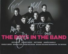 Matt Bomer, Zachary Quinto, Andrew Rannells signed Boys in The Band 8x10 photo