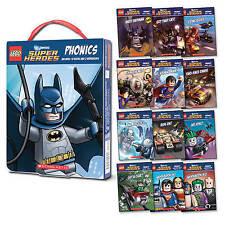 LEGO DC Super Heroes: Phonics Box Set by Quinlan B. Lee (Hardback, 2015)