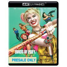 Birds Of Prey (4K UHD)RELEASE DATE 22.05.2020 - Brand New - Reg 4-Presale