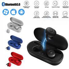 Wireless 5.0 Earphone Sports Stereo Earbuds TWS Mini True Bluetooth Headphone