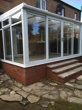 Conservatory - Made To Measure 2.495mx2.495m Lean-to -White upvc **SPRING SALE**