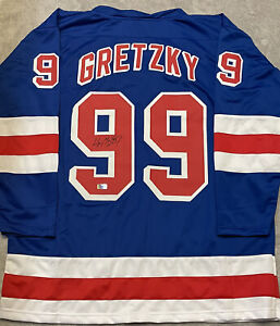 Wayne Gretzky Signed New York Rangers Jersey COA