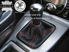 RED STITCH FOR MAZDA MX5 MK1 89-97 LEATHER GAITER GEAR SHIFT BOOT CUSTOM MADE