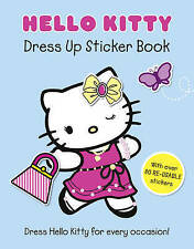 Hello Kitty Dress Up Sticker Book (Hello Kitty), VARIOUS, New Book