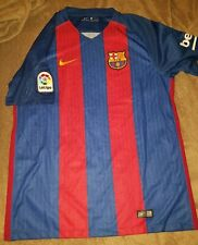 Preowned Nike Barcelona Fc Authentic Home Jersey 2016 2017 Size Large