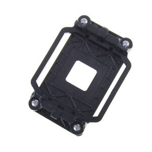 Black CPU Fan Cooler Retainer Base Bracket For AMD Socket AM3 AM2 940 B^lk