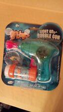 Light up Bubble Gun and Bubbles Blue gun