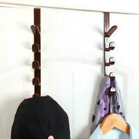 Kreative hängende Zahnstange Halter Haken Veranstalter Tasche für Schranktür