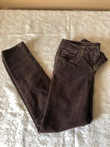 Girls Jeans Size 8R Justice Brand. Brown Color. Used