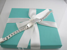 Auth Tiffany & Co Men ID Bracelet Box Included