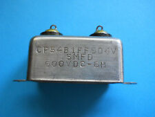 VINTAGE 5 MFD @ 600VDC CORNELL DUBILIER  PIO CAN CAPACITOR 1 PC