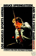 Rocker: Bruce Springsteen at Los Angeles Sports Arena Concert Poster 1981 12x18