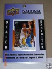 Luke Walton National Conv. Dealer Badge/Card