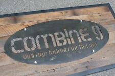 Custom Signs. Modern/Vintage Industrial/Urban. Signage, Steel/Reclaimed Wood.