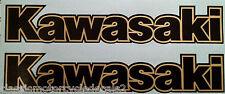 Kawasaki GPZ550 GPZ750A GPZ1100 GPZ750 TURBO Uni-Track Petrol Tank decals