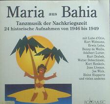 CD MARIA de BAHIA tanzmusik (musique de danse) der après-guerre 1946-1949,De Bob