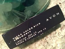 AVON Ultra Color Rich Renewable Lipstick ROUGE FATAL New Sealed FREE SHIPPING!!