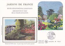 Enveloppe grand format 1er jour 2006 Jardins de France Vallée aux loups