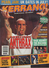 Scott Ian of Anthrax on Kerrang Cover 1993    Nirvana   Rage Against The Machine