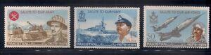 Pakistan   1965   Sc # 219-21   MNH   OG   (53761)
