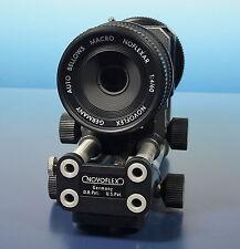 Novoflex Noflexar 1:4/60mm Canon FD lens Balgengerät Auto Bellows Macro - 40408