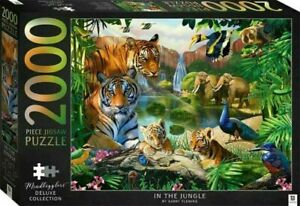 2000 Piece Jigsaw Puzzle Deluxe Collection - In The Jungle
