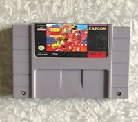 SNES Great Circus Mystery Mickey Mouse Nintendo Authentic Clean & TESTED Disney