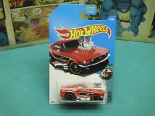2016 hot wheels 68 mustang red