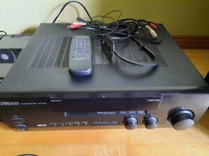 HiFi-Anlage gebraucht Kenwood und Dual schw. Tuner Cassette Plattensp 2xLautspr.