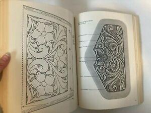 Leatherwork Manual 1969 Tandy Stohlman Patten Wilson tooled purse patterns book