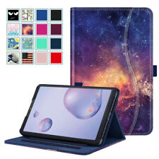 For Samsung Galaxy Tab A 8.4 SM-T307 2020 Multi-Angle Case Smart Cover w Pocket