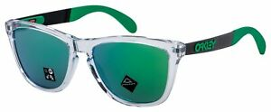 Oakley Frogskins Mix Sunglasses OO9428-0455 Polished Clear | Prizm Jade Lens