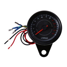Motorcycle 13000RPM Tachometer Tacho Gauge Meter Led Backlight 12V