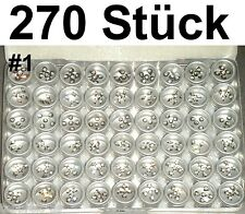 270x 3D NAGELSTICKER STRASS NAGELTATTOO NAGEL STICKER TATTOO NAIL ART Bindi #1