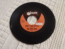THE NEW HOPE  WON'T FIND BETTER/THEY CALL IT LOVE  JAMIE 1381
