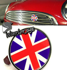 Front Grill Emblem Badge Logo Union Jack FOR MINI COOPER CLUBMAN JWC COUNTRYMAN
