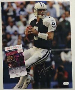 Tony Romo Dallas Cowboys Star Signed Autographed NFL 11x14 Photo JSA