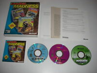 Racing MADNESS Pc 3 games - Midtown, Motocross & Monster Truck Madness 2 BIG BOX