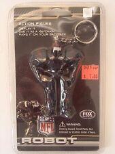 Buffalo Bills Fox Robot Keyring Backpack Tag NFL NIP Manuel Jackson McCoy