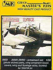 CMK 1/32 Mitsubishi A6M5 conjunto cero de armamento para Tamiya # 5003