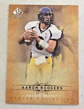 AARON RODGERS 2012 SP AUTHENTIC CANVAS COLLECTION LEGENDS INSERT CARD # CL-18
